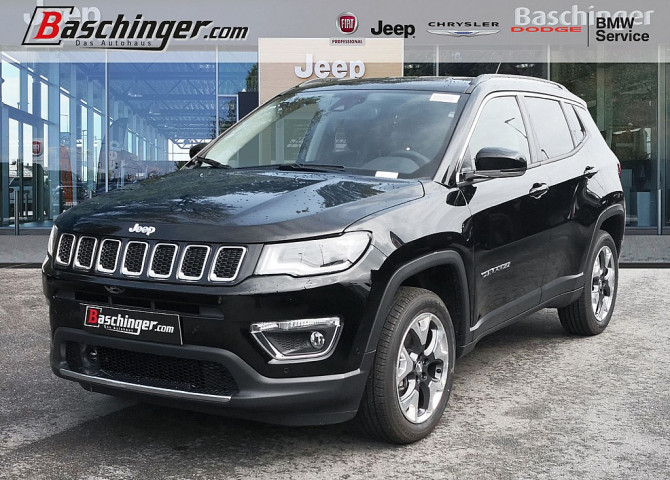 Jeep Compass Limited 170 MA 9AT 4×4 Park/Infotainment/Premium/Sichtpaket Limited bei Baschinger Ges.m.b.H. in