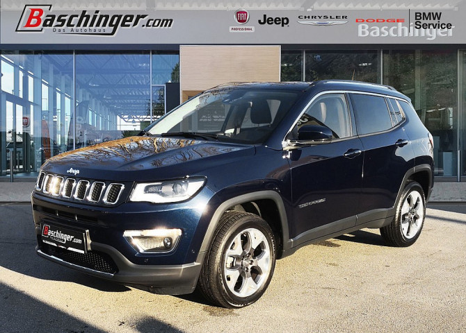 Jeep Compass Limited 170 MJ 9AT 4×4 Park/Sicht/Winterpaket bei Baschinger Ges.m.b.H. in