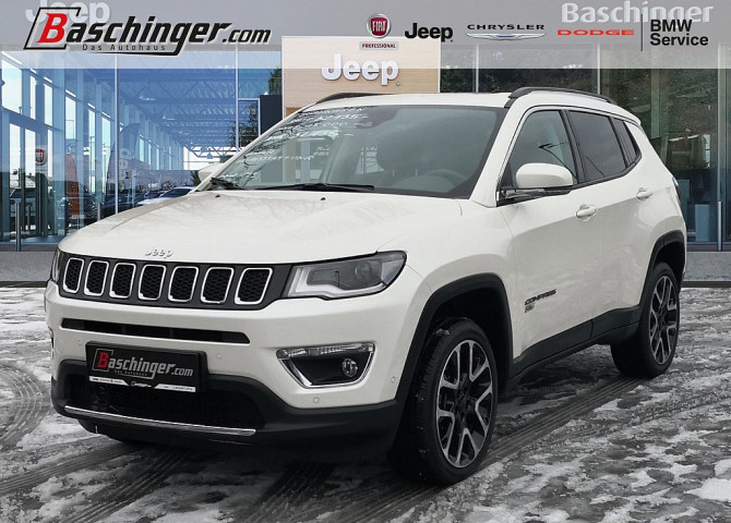 Jeep Compass Limited 140 MJ 9AT 4×4 Leder/Panorama/Park/Infotainmentpaket bei Baschinger Ges.m.b.H. in