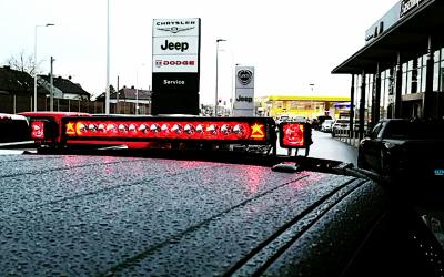 Sport Bar mit elektrischer Scheinwerfergalerie für den Dodge RAM