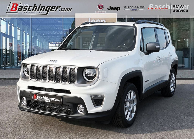 Jeep Renegade 1,0 MultiAir T3 FWD 6MT 120 Sport LED/Funktionspaket bei Baschinger Ges.m.b.H. in