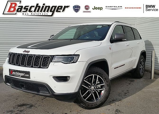 Jeep Grand Cherokee Trailhawk 3.0 CRD Technikpaket bei Baschinger Ges.m.b.H. in