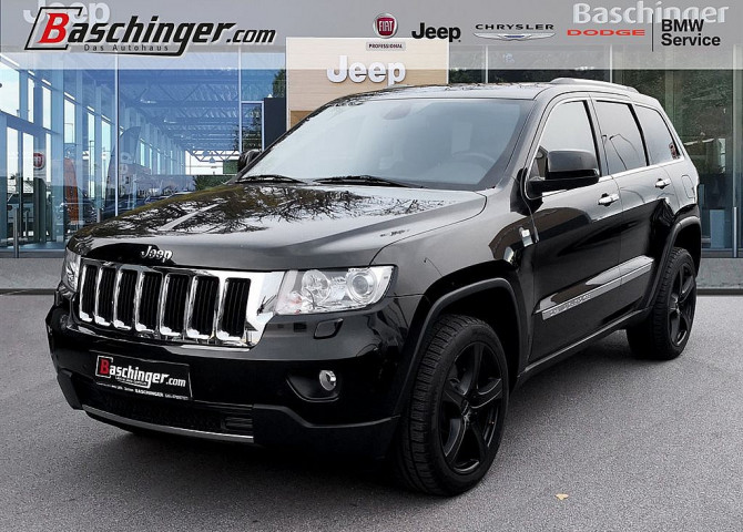 Jeep Grand Cherokee 3,0 Limited CRD bei Baschinger Ges.m.b.H. in