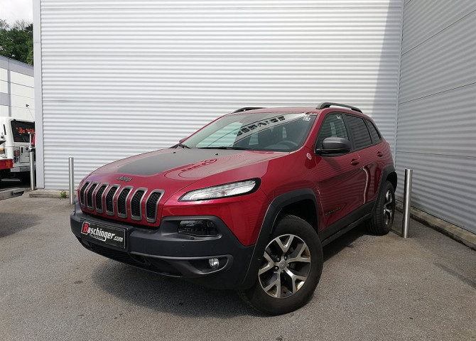Jeep Cherokee 3,2 V6 Trailhawk Aut. ACC/Panorama bei Baschinger Ges.m.b.H. in