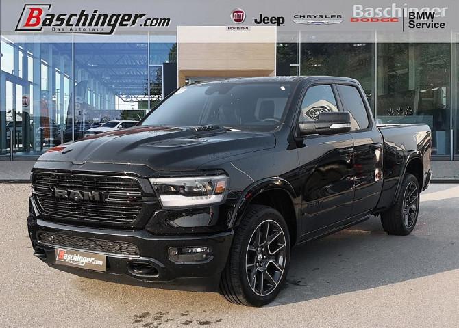 Dodge RAM Quad Cab Laramie MY2019 12″-Display/Black Pack bei Baschinger Ges.m.b.H. in