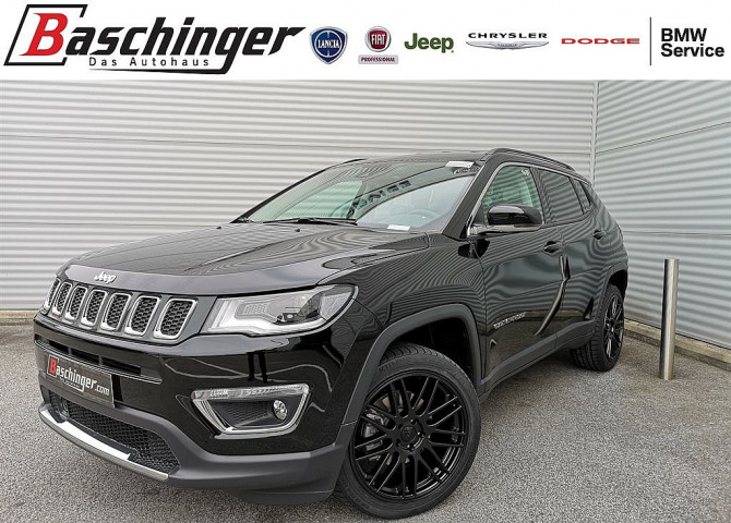 Jeep Compass B-Edition 140 MJ 9AT 4×4 19″/Sichtpaket Limited bei Baschinger Ges.m.b.H. in