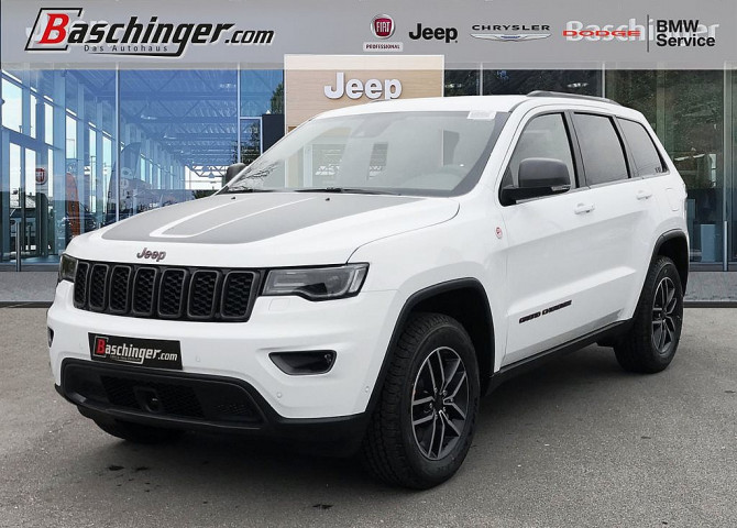 Jeep Grand Cherokee 3,0 V6 CRD Trailhawk E6d Technikpaket bei Baschinger Ges.m.b.H. in