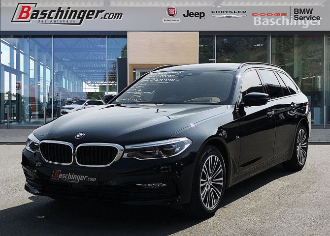 BMW 520d Touring Aut. Vollausstattung/Panorama/ACC bei Baschinger Ges.m.b.H. in