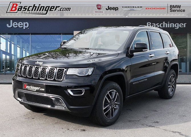 Jeep Grand Cherokee 3,0 V6 Multijet II Limited E6d bei Baschinger Ges.m.b.H. in