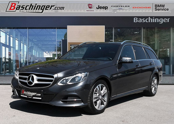 Mercedes-Benz E 200 T BlueTEC Avantgarde Aut. AMG/LED/AHK bei Baschinger Ges.m.b.H. in