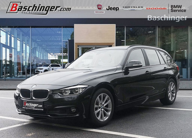 BMW 318d Touring Aut. Teilleder/LED/Navigation bei Baschinger Ges.m.b.H. in