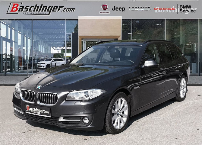 BMW 525d xDrive Österreich-Paket Touring Leder/Panorama/AHV bei Baschinger Ges.m.b.H. in
