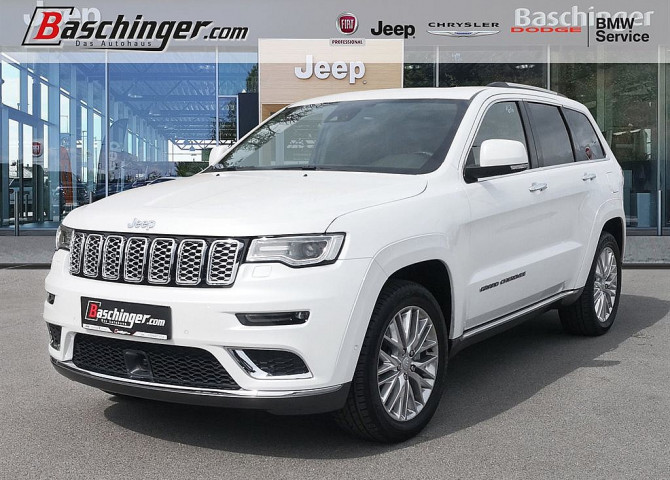 Jeep Grand Cherokee 3,0 V6 CRD Summit Panorama/Navi bei Baschinger Ges.m.b.H. in