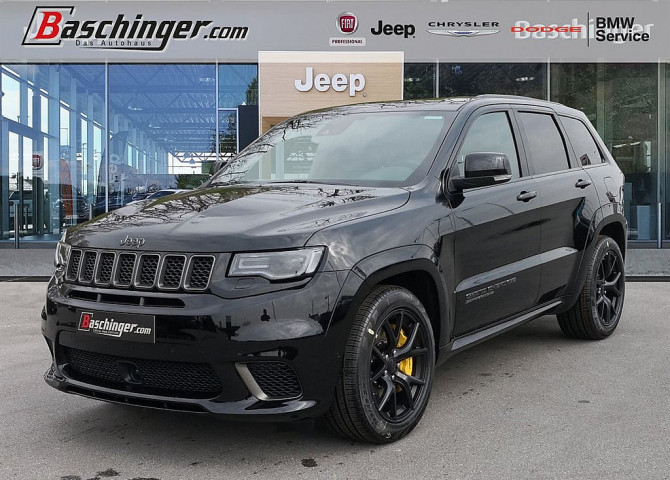 Jeep Grand Cherokee 6,2 V8 Trackhawk Trackhawk Supercharged bei Baschinger Ges.m.b.H. in