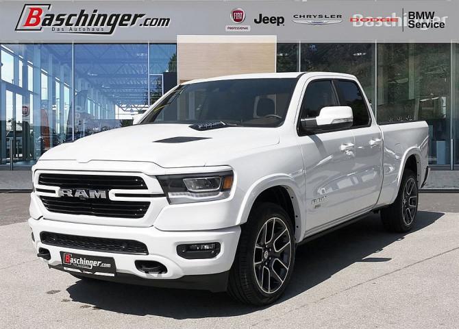 "Dodge RAM Quad Cab Laramie Luft/12""Navi/22%Zoll bei Baschinger Ges.m.b.H. in"
