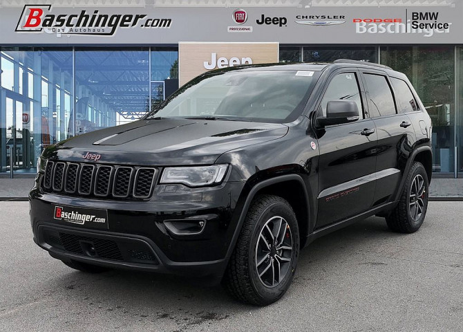 Jeep Grand Cherokee 3,0 V6 CRD Trailhawk Technikpaket bei Baschinger Ges.m.b.H. in