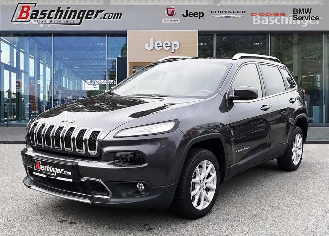Jeep Cherokee 2,0 MultiJet II AWD Limited Aut. ACC/Leder/Navi bei Baschinger Ges.m.b.H. in