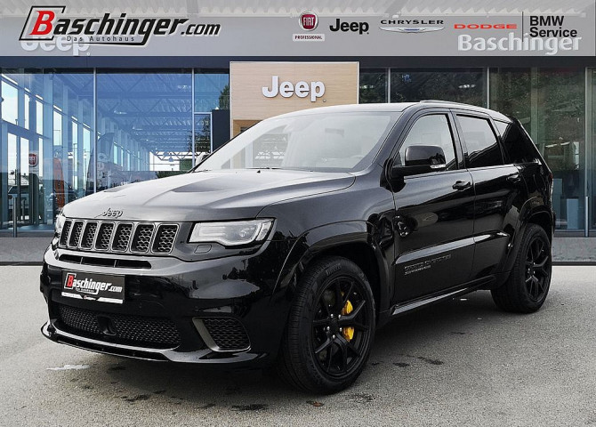 Jeep Grand Cherokee 6,2 V8 Trackhawk Supercharged bei Baschinger Ges.m.b.H. in