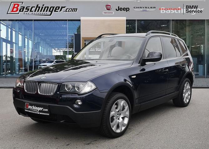 BMW X3 2,0d Österreich-Paket Leder/Navi/Xenon bei Baschinger Ges.m.b.H. in