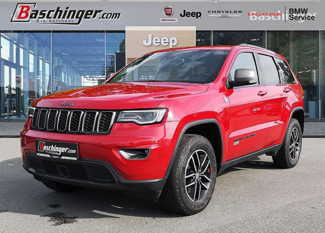 Jeep Grand Cherokee 3.0 V6 CRD Trailhawk Technikpaket/Panorama bei Baschinger Ges.m.b.H. in