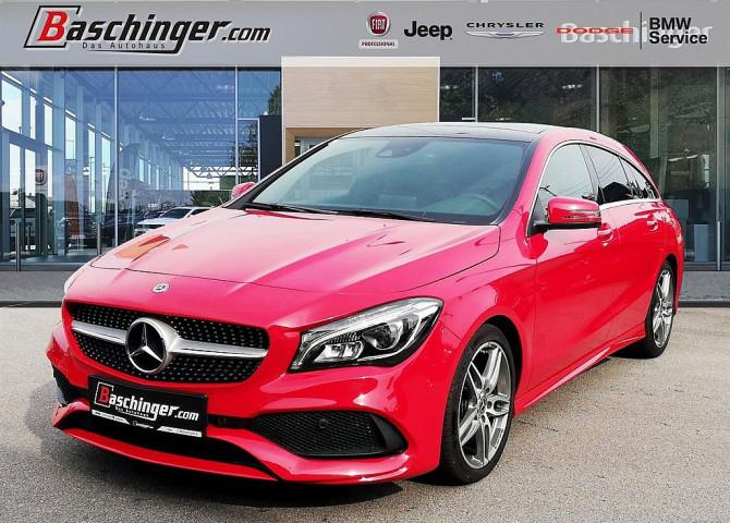 Mercedes-Benz CLA 200 d Shooting Brake Aut. AMG-Line/Schiebedach/AHK bei Baschinger Ges.m.b.H. in