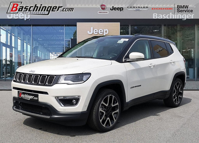 Jeep Compass 1,6 MultiJet FWD 6MT 120 Limited Park/Premiumpaket bei Baschinger Ges.m.b.H. in