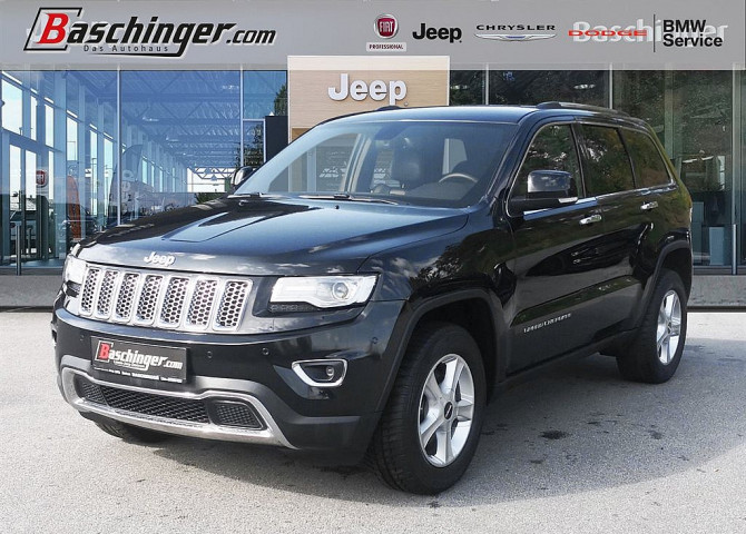 Jeep Grand Cherokee 3,0 V6 CRD Limited Traum-Zustand bei Baschinger Ges.m.b.H. in