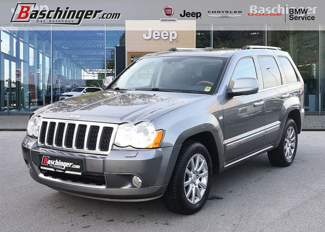 Jeep Grand Cherokee 3,0 V6 CRD Overland Traum-Zustand bei Baschinger Ges.m.b.H. in