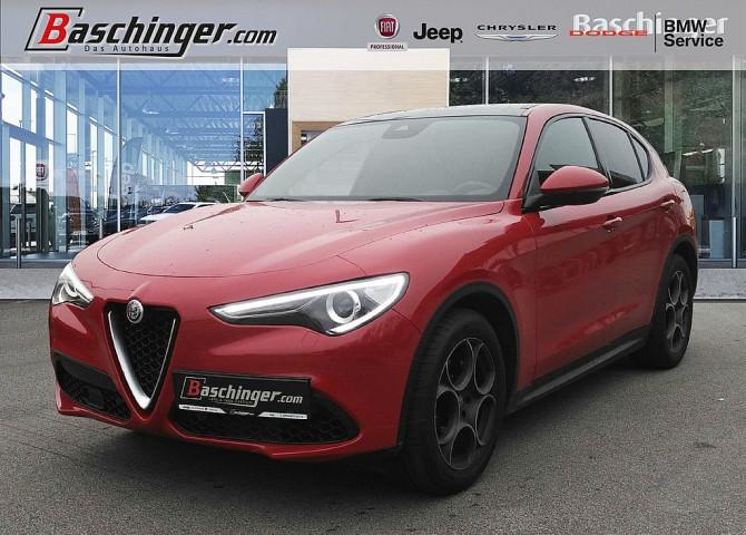 Alfa Romeo Stelvio Super 2,2 ATX Panorama/Leder/Navi bei Baschinger Ges.m.b.H. in