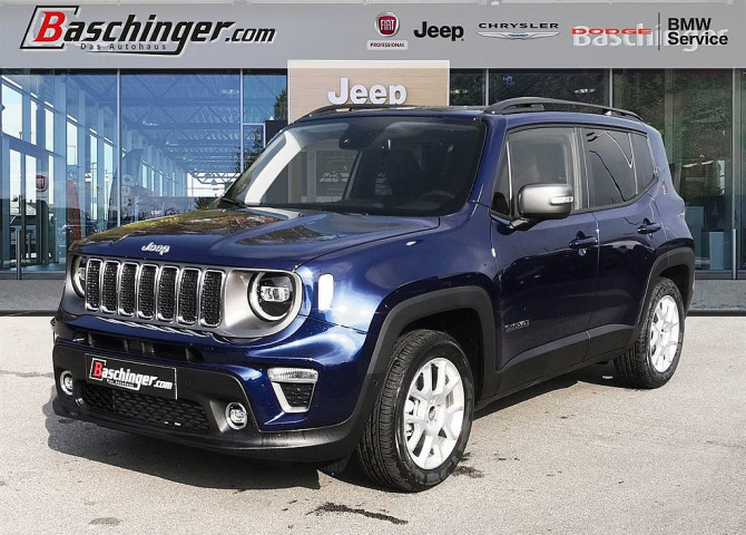 Jeep Renegade 1,6 MultiJet II FWD 120 Limited Aut. LED/Technologiepaket bei Baschinger Ges.m.b.H. in