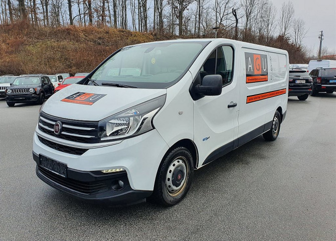 Fiat Talento L2H1 3,0t 1,6 EcoJet Twin-Turbo 125 Anhängevorrichtung Basis bei Baschinger Ges.m.b.H. in