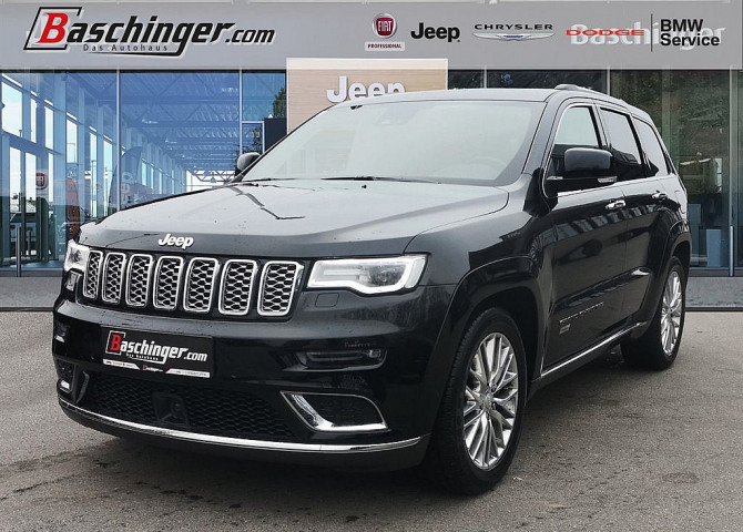Jeep Grand Cherokee 5,7 V8 HEMI Summit bei Baschinger Ges.m.b.H. in