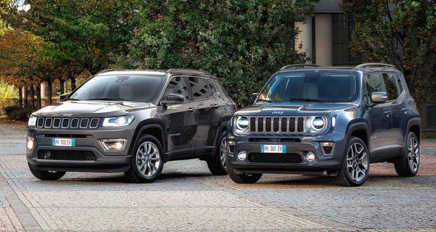 Die neuen Jeep 4xe First Editions