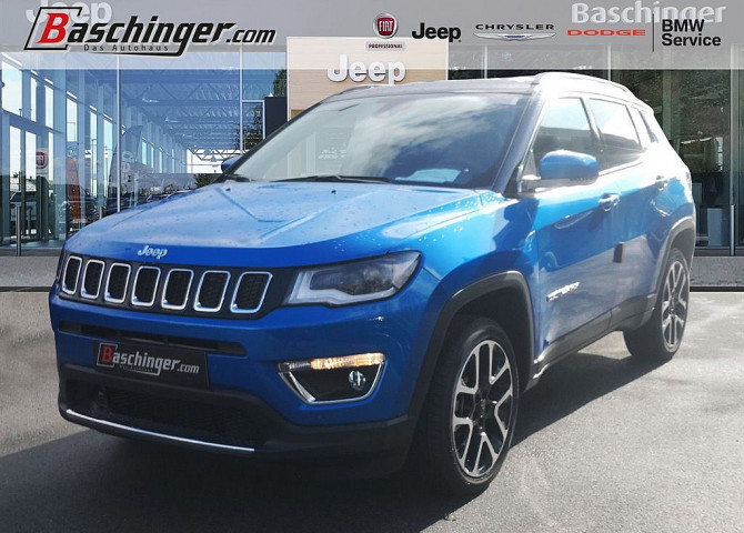 Jeep Compass 1,4 MultiAir2 AWD Limited Aut. bei Baschinger Ges.m.b.H. in