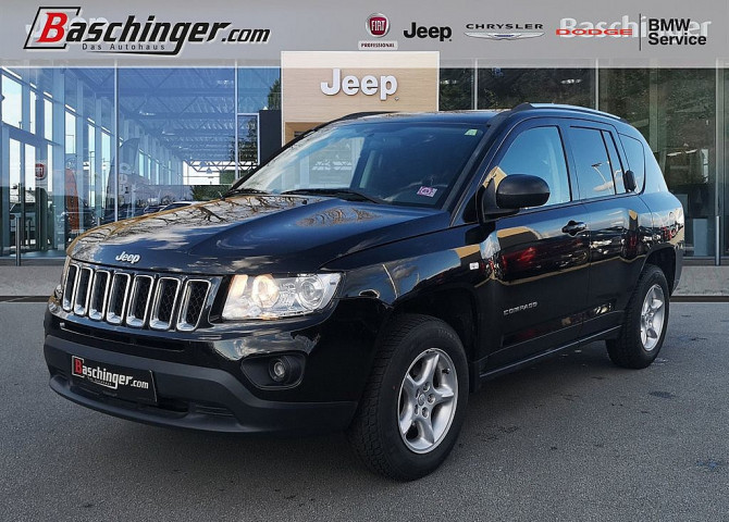 Jeep Compass 2,2 CRD Sport FWD bei Baschinger Ges.m.b.H. in