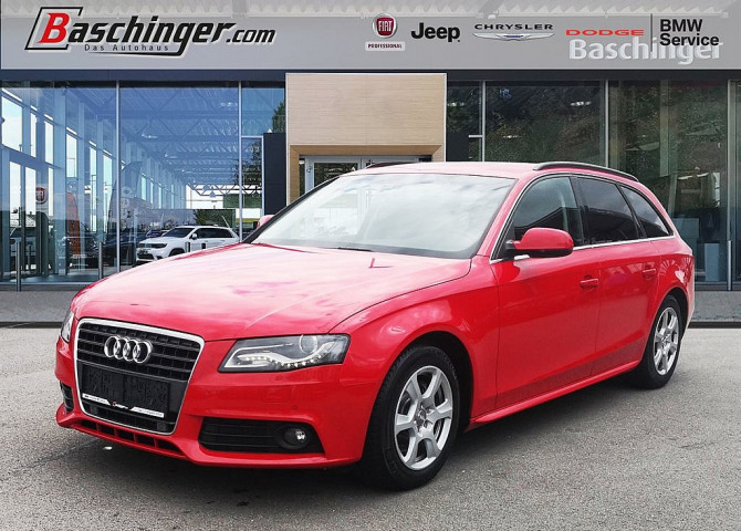Audi A4 Avant 2,0 TDI Start-up DPF bei Baschinger Ges.m.b.H. in