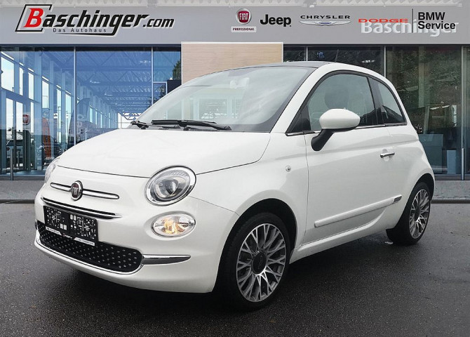 Fiat 500 ECO 1,2 69 Lounge 8-fach bei Baschinger Ges.m.b.H. in