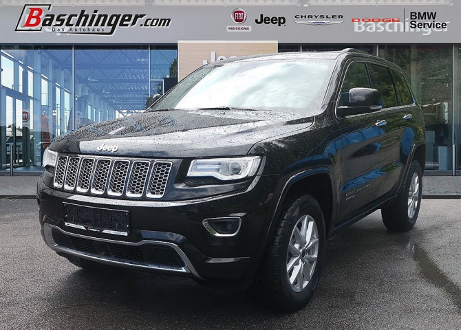 Jeep Grand Cherokee 3,0 V6 CRD Overland Panorama/Leder bei Baschinger Ges.m.b.H. in