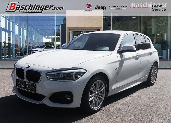 BMW 116d M Sport Aut. Navi/M-Paket/8-fach/Schiebedach bei Baschinger Ges.m.b.H. in
