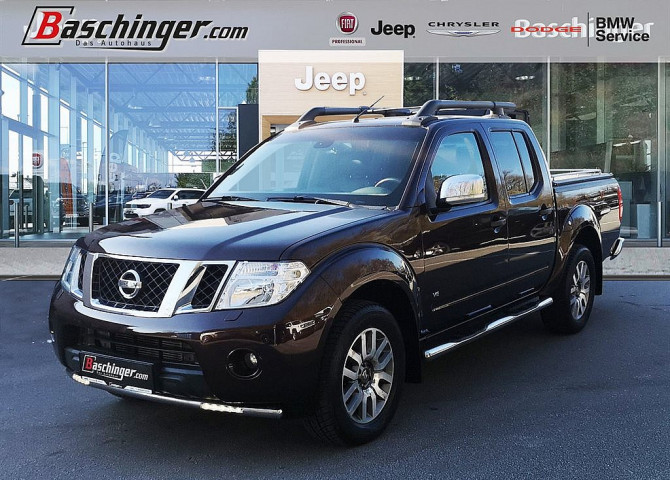 Nissan Double Cab Navara LE 3,0 dCi 4×4 DPF Aut. bei Baschinger Ges.m.b.H. in