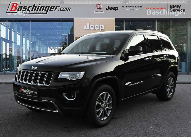 Jeep Grand Cherokee 3,0 V6 CRD Limited AHK/Standheizung/280PS bei Baschinger Ges.m.b.H. in