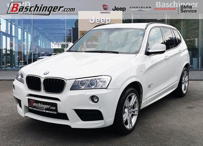 BMW X3 xDrive20d Ö-Paket Aut. M-Paket/Navi/8-fach bei Baschinger Ges.m.b.H. in