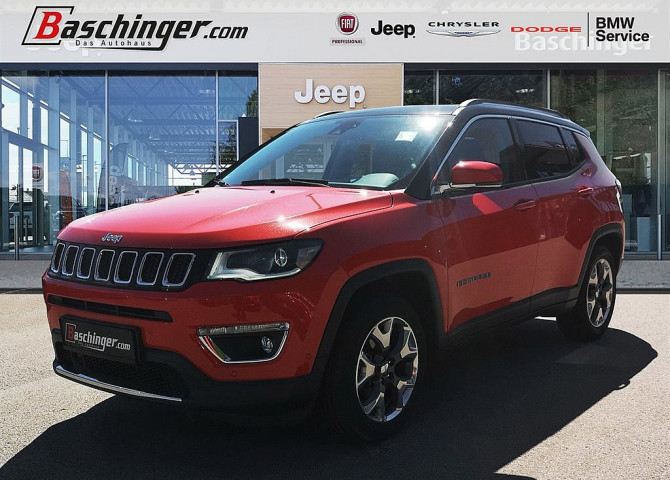 Jeep Compass 1,4 MultiAir2 FWD Limited bei Baschinger Ges.m.b.H. in