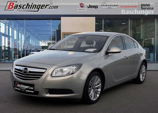 Opel Insignia 2,0 Cosmo CDTI DPF Ecotec Aut. Navi/Leder/8-fach bei Baschinger Ges.m.b.H. in