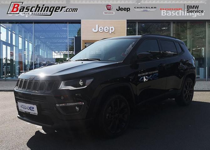 Jeep Compass 1,3 4xe S Hybrid Parkpaket Firmen -7%! bei Baschinger Ges.m.b.H. in