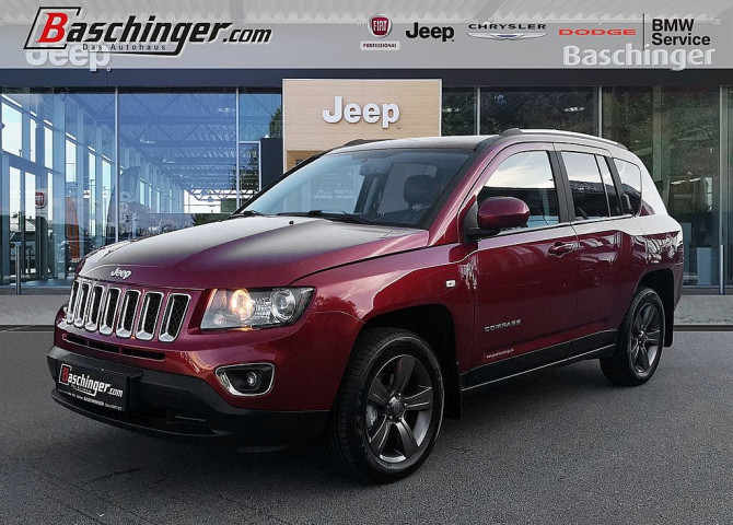 Jeep Compass 2,2 CRD North AWD bei Baschinger Ges.m.b.H. in