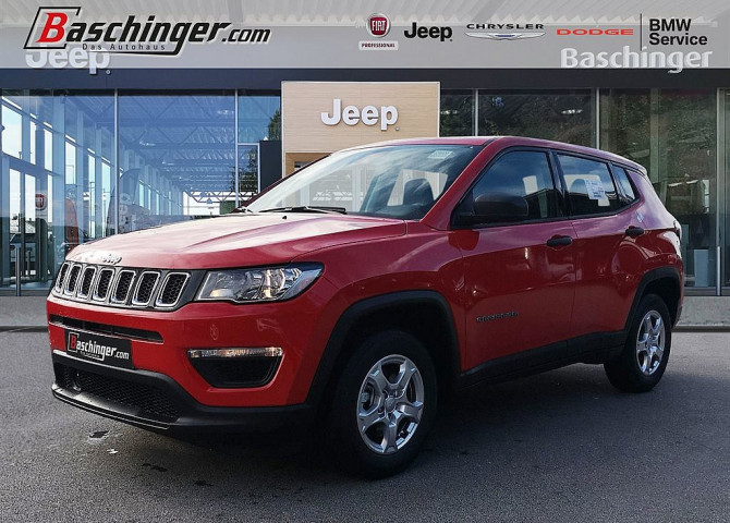Jeep Compass 1.3 MultiAir FWD Sport bei Baschinger Ges.m.b.H. in