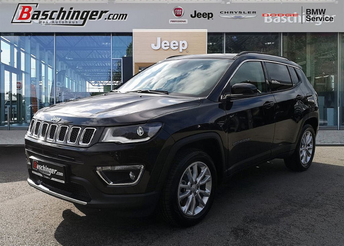Jeep Compass 1,3 4xe Limited Hybrid Park Firmen -7%! bei Baschinger Ges.m.b.H. in
