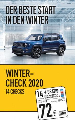 Wintercheck – AKTION