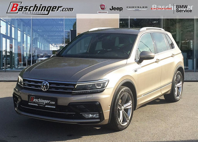 VW Tiguan 2,0 TDI SCR 4Motion Highline DSG bei Baschinger Ges.m.b.H. in